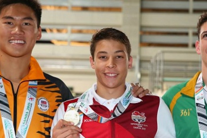 England's young athletes continue to shine in Samoa