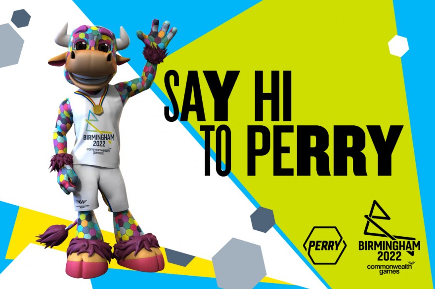 Birmingham 2022 mascot revealed as Perry