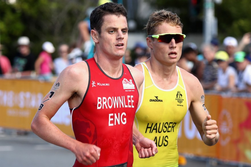 Brownlee on song in Singapore