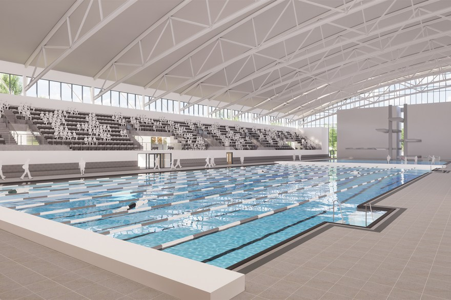 Plans unveiled for Birmingham 2022 aquatics venue