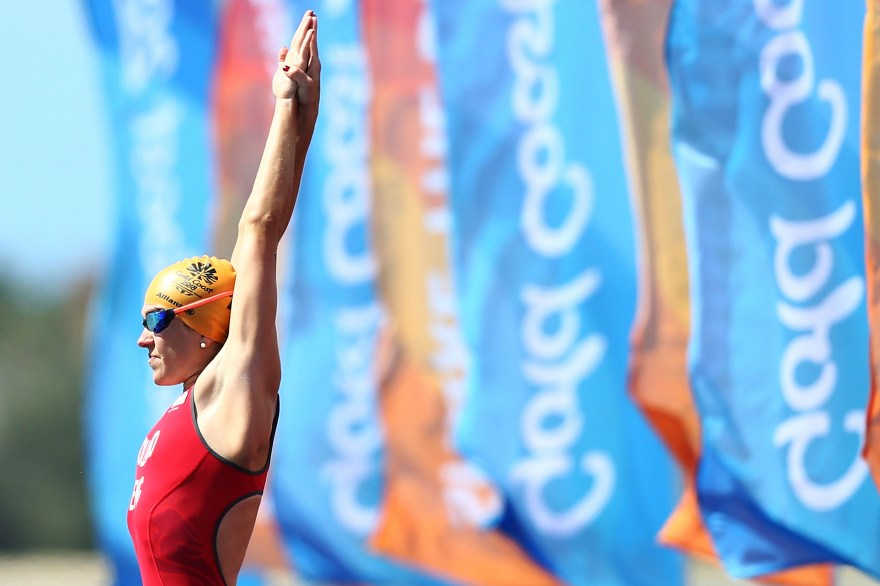 Team England triathlete triumphs at World Championships