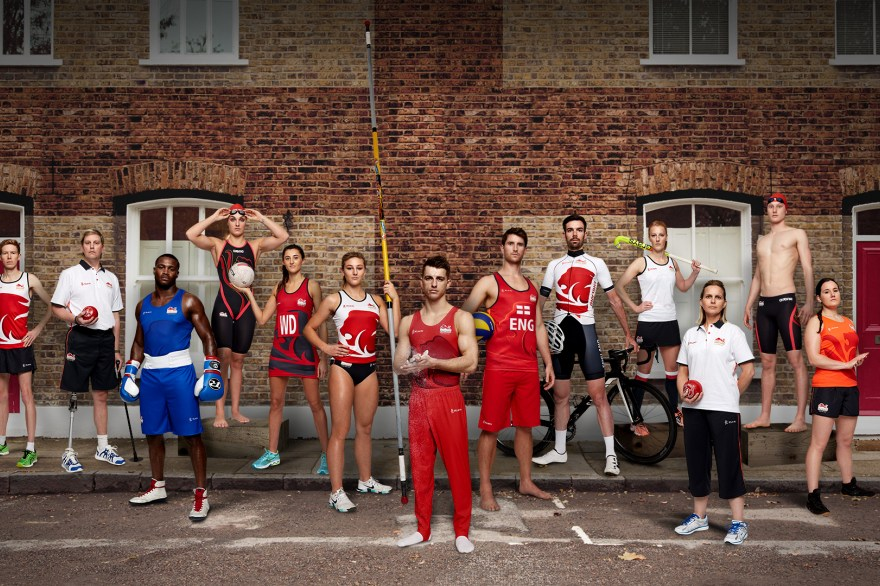 Team England unveil new kit for Gold Coast 2018 Commonwealth Games