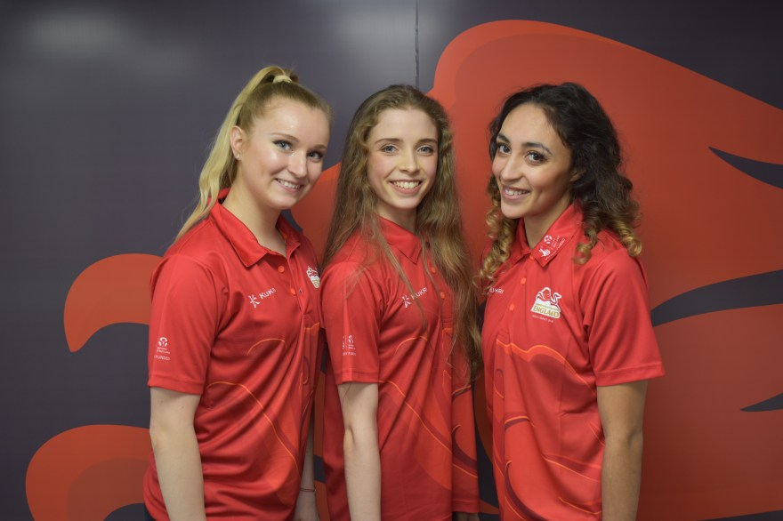Team England's rhythmic gymnasts announced for 2018 Commonwealth Games