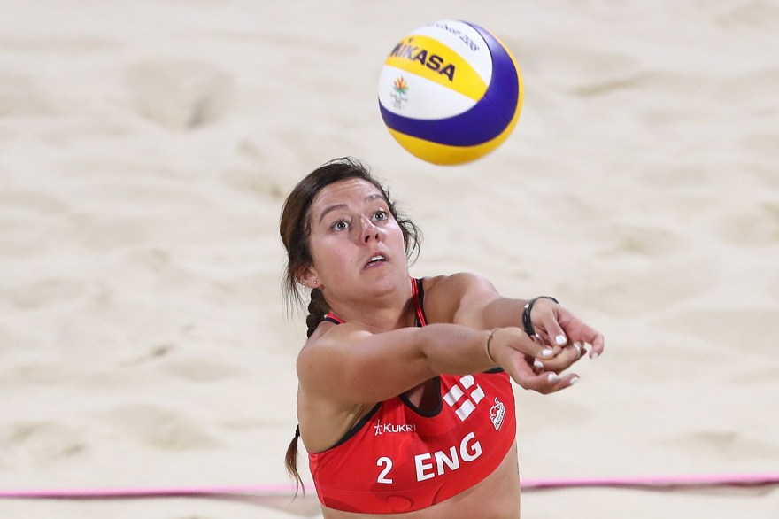 Jess Grimson happy to be back on the sand after curtailed Beach Volleyball season