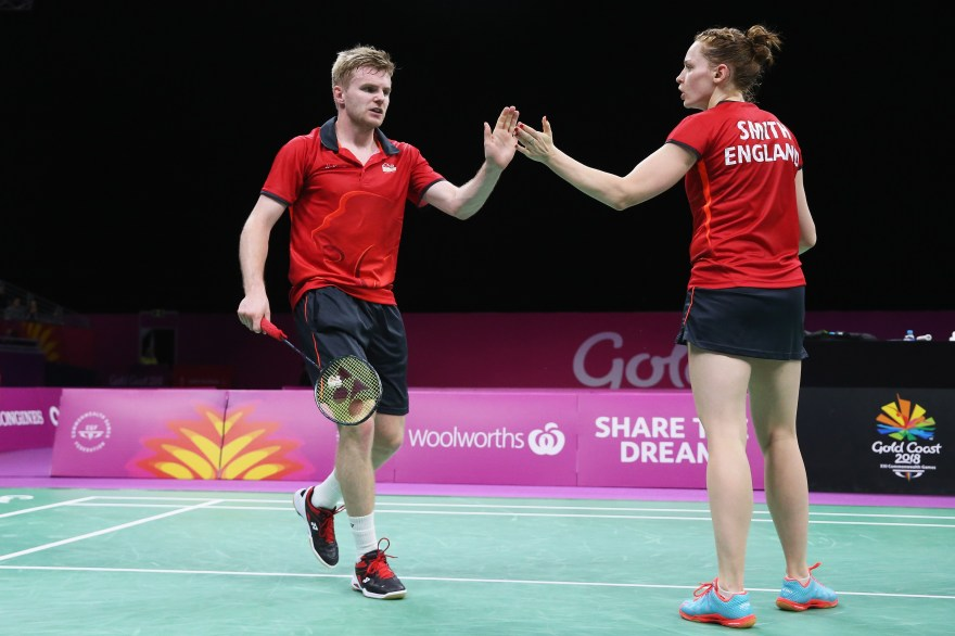 Lauren Smith and Marcus Ellis beaten in the mixed doubles semi-finals at the All England Badminton Championships