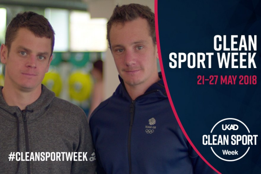 Team England sports stars support UK Anti-Doping's Clean Sport Week