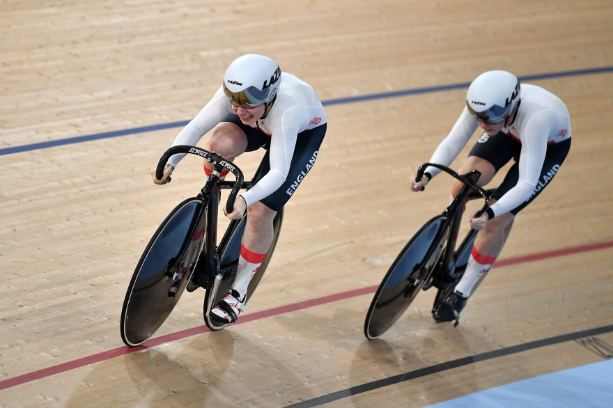 Marchant marches to keirin gold at Track Cycling World Cup