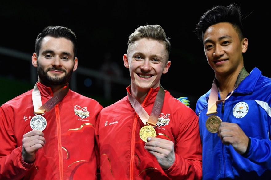 A second Wilson-Hall one-two ends Gymnastics with a bang