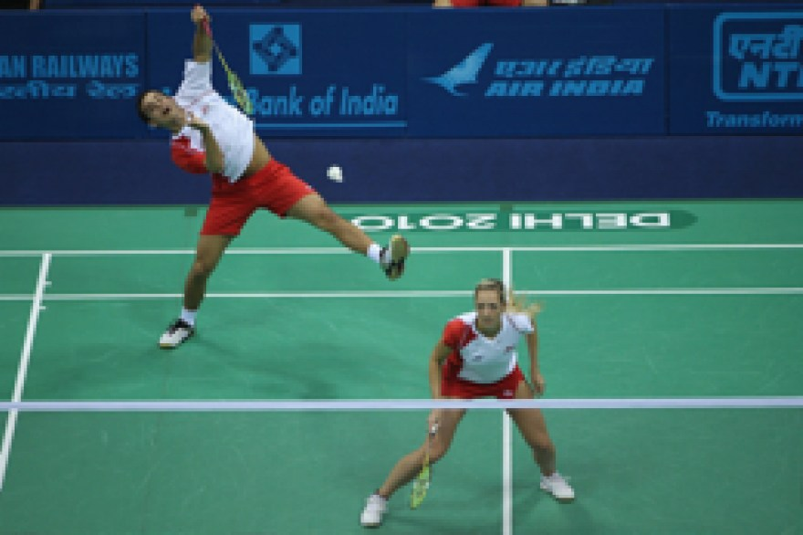 Badminton: England dominate doubles on final day