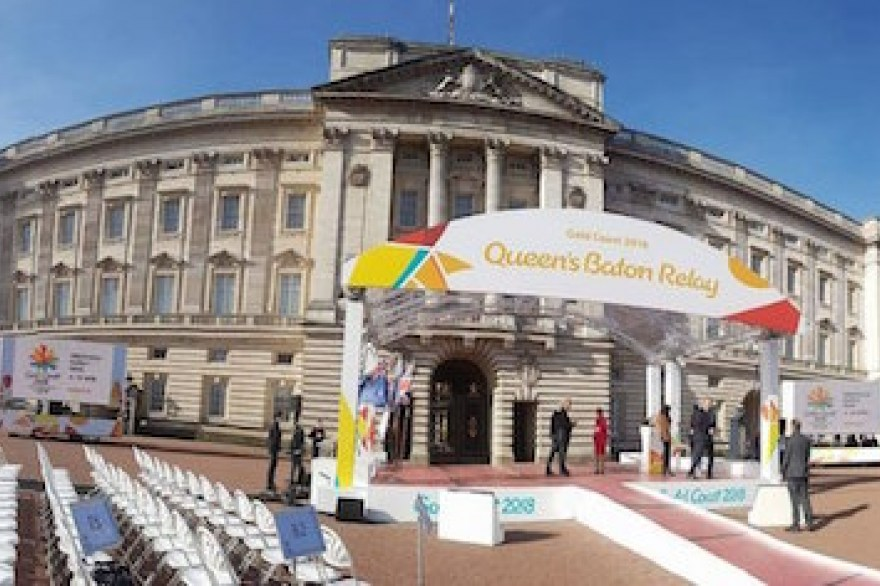The Queen's Baton Relay launch on Commonwealth Day!