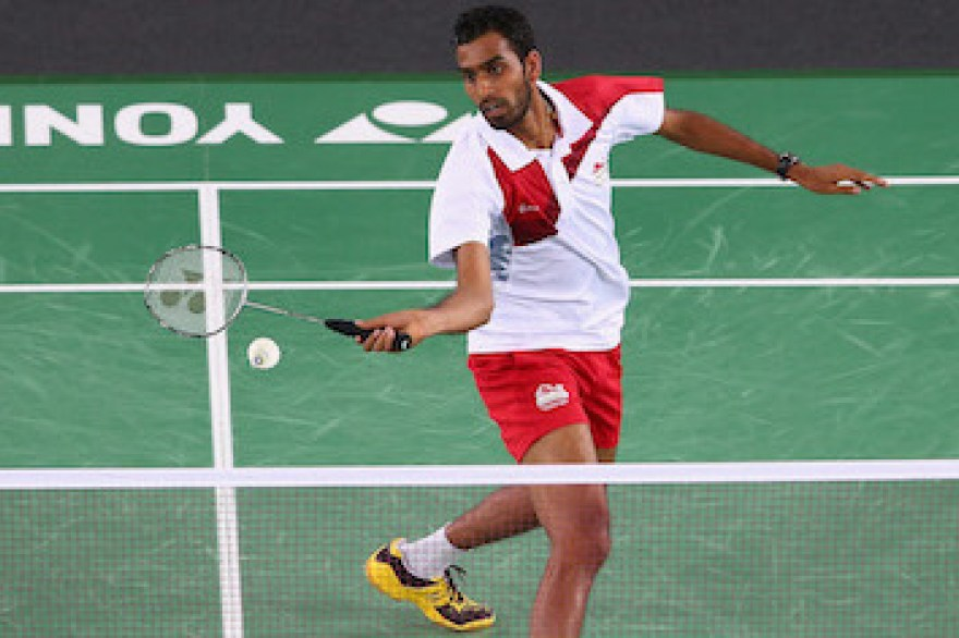 Rajiv upbeat in return from injury despite defeat at Yonex All England