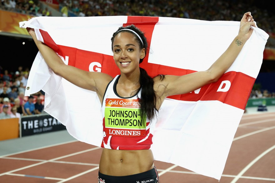 Katarina Johnson-Thompson wins world heptathlon gold