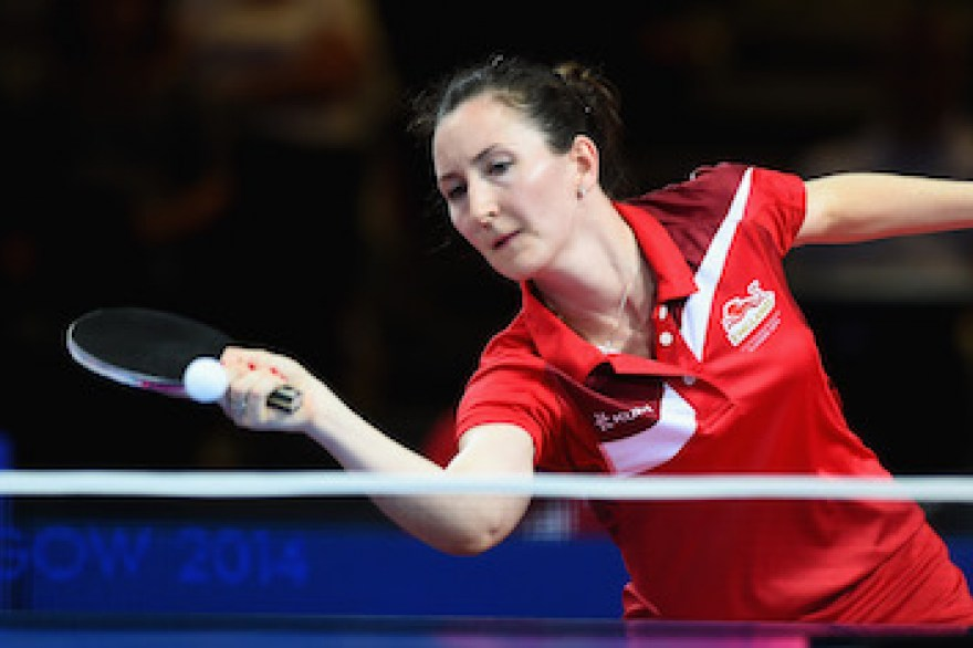Commonwealth Champion Jo Drinkhall to make table tennis comeback at PG Mutual National Championships