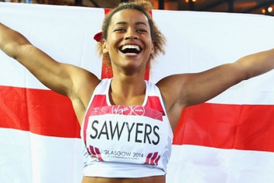 Jazmin Sawyers talks memories, medals and moving on up
